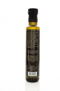 Crushed Meyer Lemon Extra Virgin Olive Oil Rear