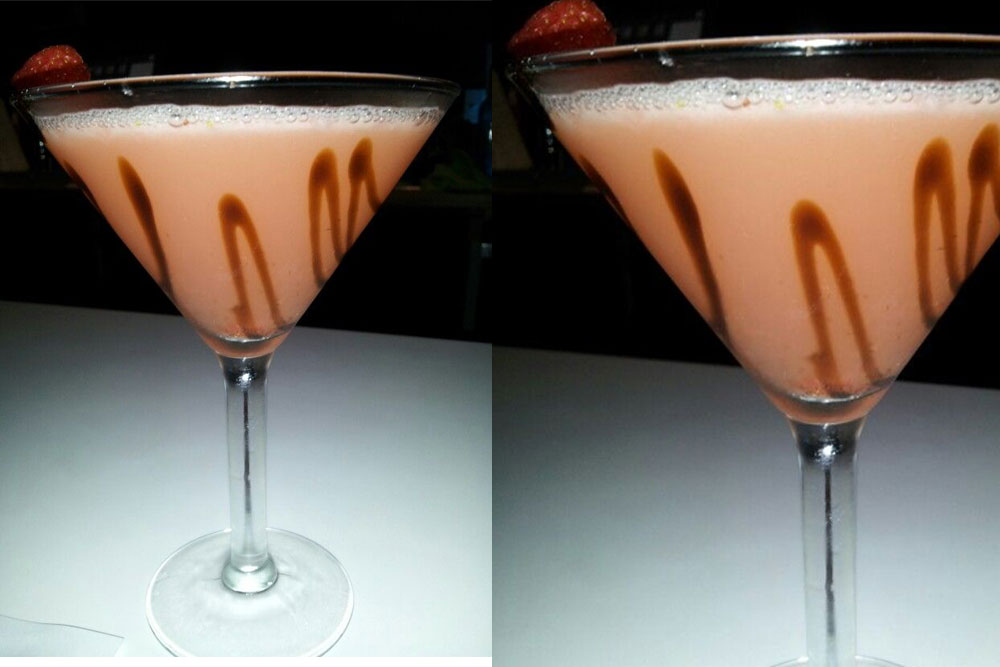 Fig Balsamic Martini