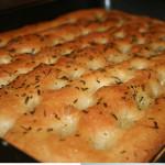 Focaccia Bread with 4 Buona Vita Celano Herb Blends