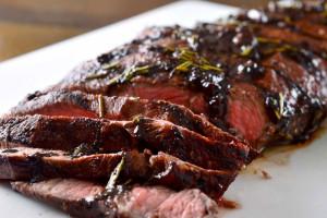 Rosemary Steak, with 4 Buona Vita Smoked Rosemary Olive Oil