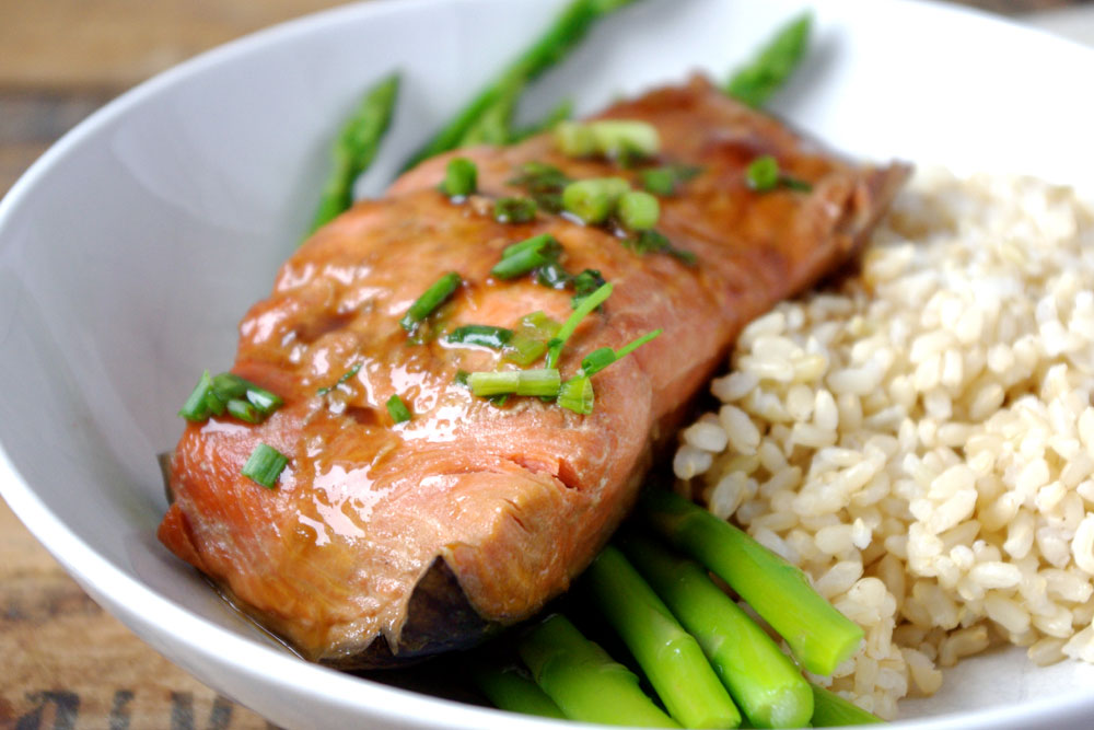 Smokey Spiced Grilled Alaska Salmon