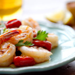 Smokey, Spicy Garlic Shrimp, with 4 Buona Vita Smoked Jalapeno Olive Oil