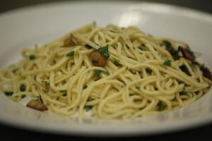 Spaghetti with 4 Buona Vita Celano Herb Blends