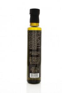 Vanilla Bean Extra Virgin Olive Oil Rear